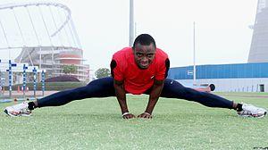 Femi Ogunode - Ogunode in 2011