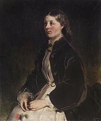 Portrait of Christine Freifrau von Schönberg
