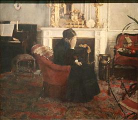 Listening to Music by Schumann
