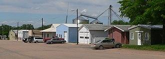 Filley, Nebraska - Downtown Filley: Livingston Street