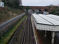 Finchley Central stn high northbound2.JPG