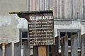 Fingerpost to Ägydi chapel, Fischbach, Styria.jpg
