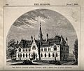 Finlay Asylum, Quebec, Canada. Wood engraving, 1870, after S Wellcome V0014388.jpg