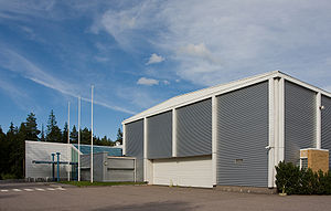 Finnish Aviation Museum - Main building of the Finnish Aviation Museum