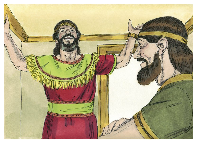 First Book of Chronicles Chapter 17-1 (Bible Illustrations by Sweet Media)