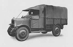 Guy Motors - Guy's first military vehicle produced in 1923