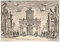 First interlude- palace of fame (Intermedio sesto- palazzo della fama), from the series 'Seven Interludes' for the wedding celebration of Cosimo de' Medici in Florence, 1608 MET DP832204.jpg