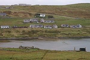 Firth, Shetland - Image: Firthsvoe