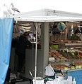 Fischbude im Hafen von Ostende (Oostende Belgien) 09-2020.jpg
