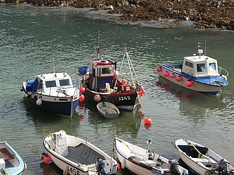Bonne Nuit (Jersey) - Some fishing continues from Bonne Nuit - mostly for crabs and lobsters