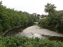 Il fiume Seveso a Palazzolo Milanese.