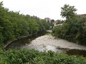 Paderno Dugnano - The Seveso river at Palazzolo Milanese.