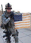 Flag of my Father, Paratrooper keeps flag carried by his dad in Vietnam clo DVIDS70864.jpg