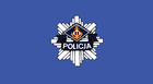 Polish Police vessels flag