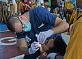 Flickr - Official U.S. Navy Imagery - A Navy officer performs an oral examination..jpg