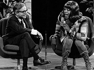 David Reuben (author) - Geraldine (Flip Wilson) interviews sex expert Dr. David Reuben on The Flip Wilson Show (1971)