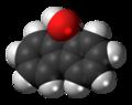 Fluorenol molecule spacefill.png