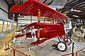 Fokker DR.1 Dreidecker (3 wings) (8266635446).jpg