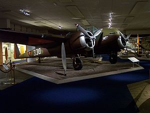 Fokker G.I - Replica of the G.I at the Dutch Air Force Museum in Soesterberg, The Netherlands.