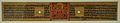 Folio - Pancharaksha Depicting Mahasitavati - Palm Leaf - Circa 13th Century AD - Barendra Bhumi - National Museum - New Delhi - Indian Buddhist Art - Exhibition - Indian Museum - Kolkata 2012-12 2249.JPG
