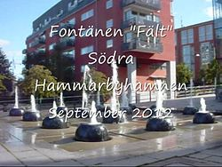 Fil:Fontänen Fält video 2012a.ogv