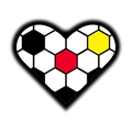 Football Heart Soccer Fußball Fussball Herz - Version Deutschland Germany Schwarz Rot Gold small shady. Clemens Ratte-Polle.png