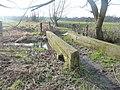 Footbridge across nameless dike - geograph.org.uk - 2265417.jpg