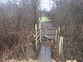 Footbridge and Stile on the Greensand Way near Stumble Lane - geograph.org.uk - 1720781.jpg
