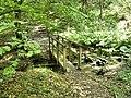 Footbridge over stream - geograph.org.uk - 1443524.jpg