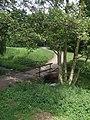 Footbridge over the Waterhead Brook - geograph.org.uk - 1901518.jpg