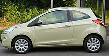 Ford Ka II 1.2 Titanium side 20100730.jpg