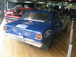 London–Sydney Marathon - The Ford XT Falcon GT which placed 3rd in the 1968 Marathon