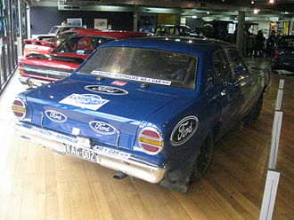 London–Sydney Marathon - The Ford XT Falcon GT which placed 3rd in the 1968 Marathon
