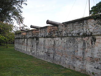 History of Penang - Fort Cornwallis, in the heart of George Town, was constructed at the spot where Francis Light first set foot on Penang Island.