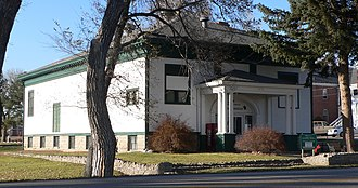 National Register of Historic Places listings in Dawes County, Nebraska - Image: Fort Robinson Trailside Museum 2