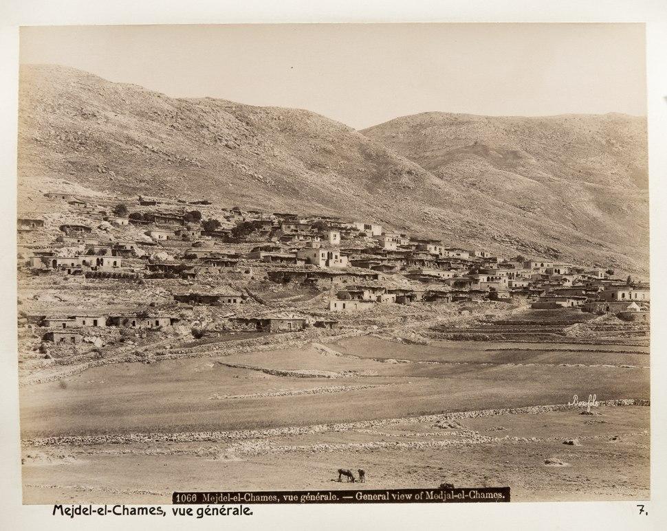 Fotografi från Majdal Shams - Hallwylska museet - 104344
