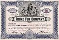 Fouke Fur Company, Stock Certificate.jpg