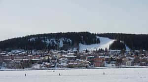 Jämtland - Frösön during winter. This island, named after Freyr, the Norse god of fecundity and love, was the regional centre of Jämtland for ages.
