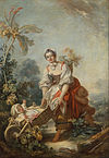 Fragonard, Jean-Honoré - The Joys of Motherhood - Google Art Project.jpg