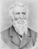 Formal portrait of a bearded man of about 60