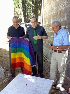 Massimo consoli manifesto gay