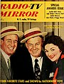 Frank Parker, Arthur Godfrey and Marion Marlowe by Ozzie Sweet, May 1953.jpg