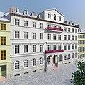 Frankfurt Am Main-Virtuelles Altstadtmodell Frankfurt Am Main-Schopenhauerhaus von Suedwesten.jpg