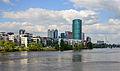 Frankfurt skyline with river Main - Germany - April 20th 2014 - 01.jpg