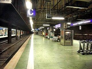 Frankfurt Airport regional station railway station