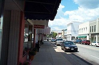 Franklin, Virginia - Downtown Franklin, Virginia