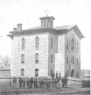 Saint Paul Central High School - Image: Franklin School 1865 Image 5