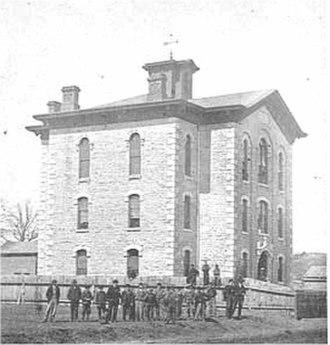 Saint Paul Central High School - Image: Franklin School 1865 Image 5