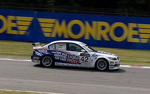 Engstler Motorsport - Franz Engstler at Brands Hatch in the 2008 WTCC