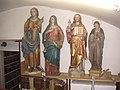 Franziskanerkloster Graz Bib. Statuen.JPG